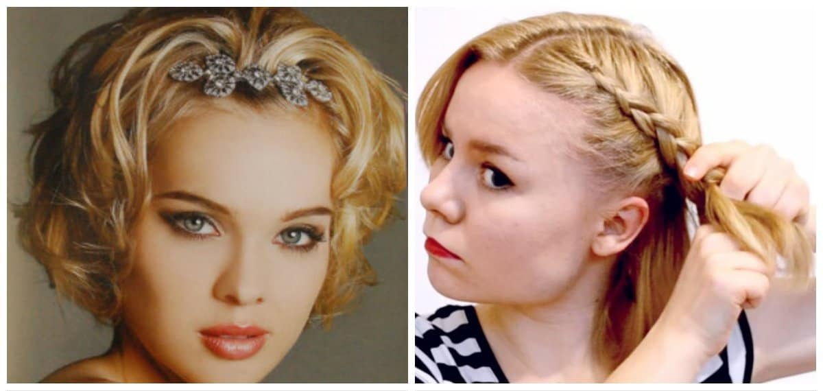 easy hairstyles for short hair, top 5 fashionable hairstyles for short hair