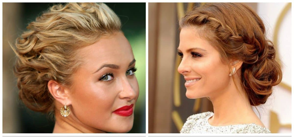 easy hairstyles for short hair, stylish wreath of beam for short hair