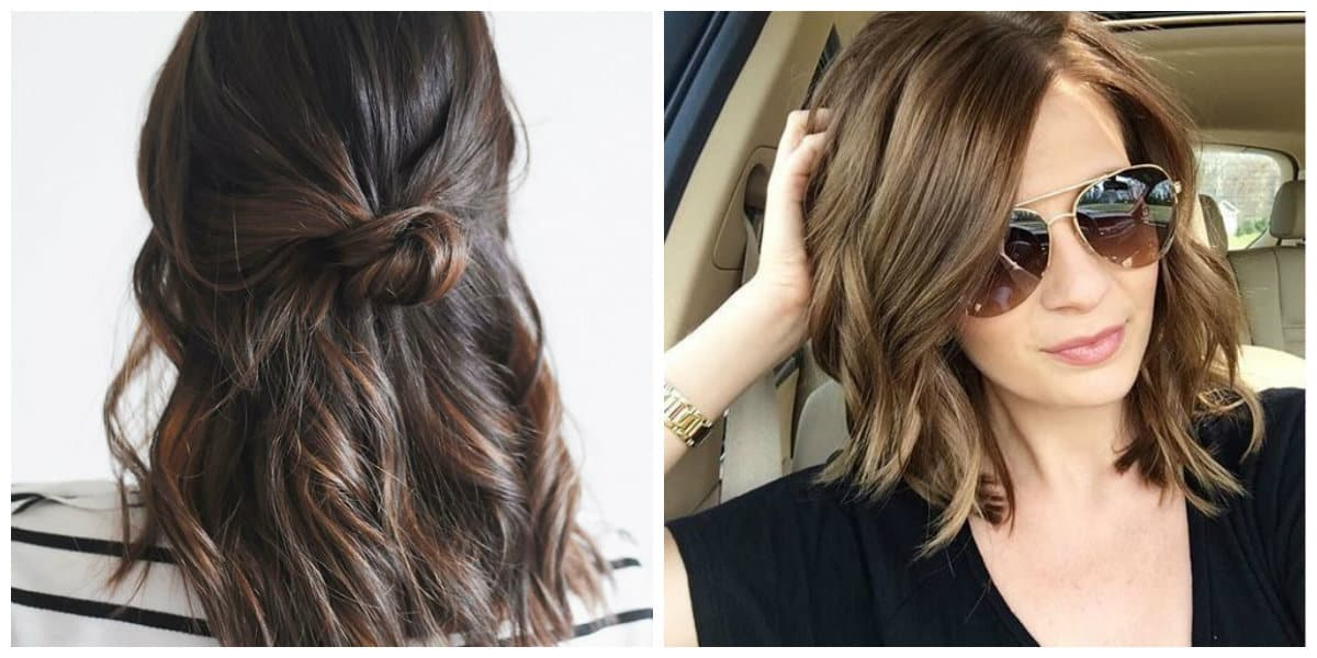 easy updos for medium hair, stylish ideas for medium hair styling