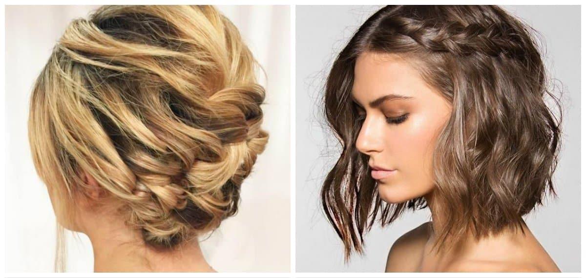 elegant hairstyles for short hair, 8 stylish ideas for short hair