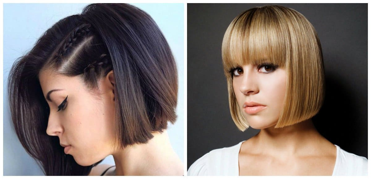 fancy hairstyles for short hair, stylish bob hairstyle, trendy quads hairstyle