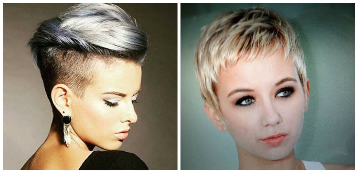 fancy hairstyles for short hair, stylish pixie hairstyle