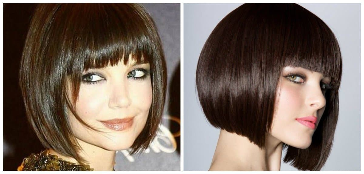 fancy hairstyles for short hair, stylish quads with bangs