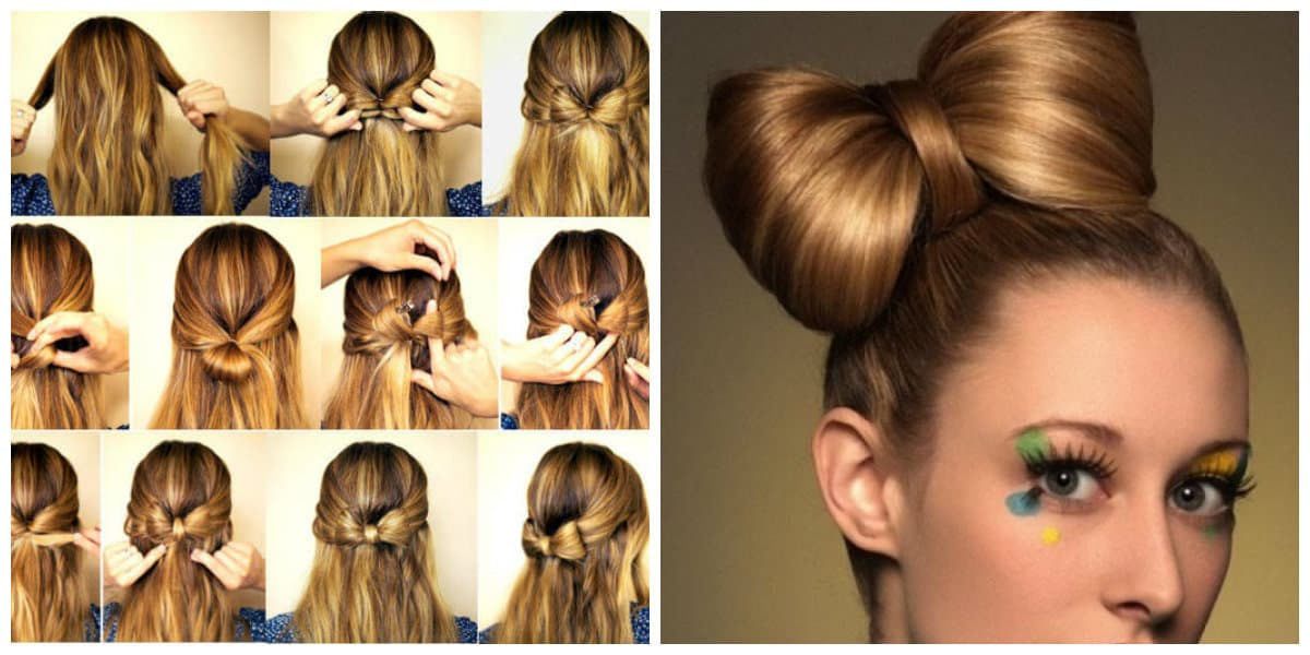 formal hairstyles for long hair, fashionable hairstyle bant of hair