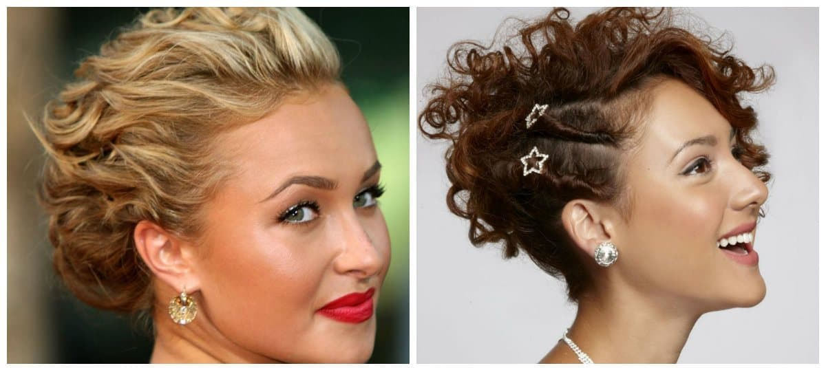 formal hairstyles for short hair, short formal hairstyle ideas with hairpins