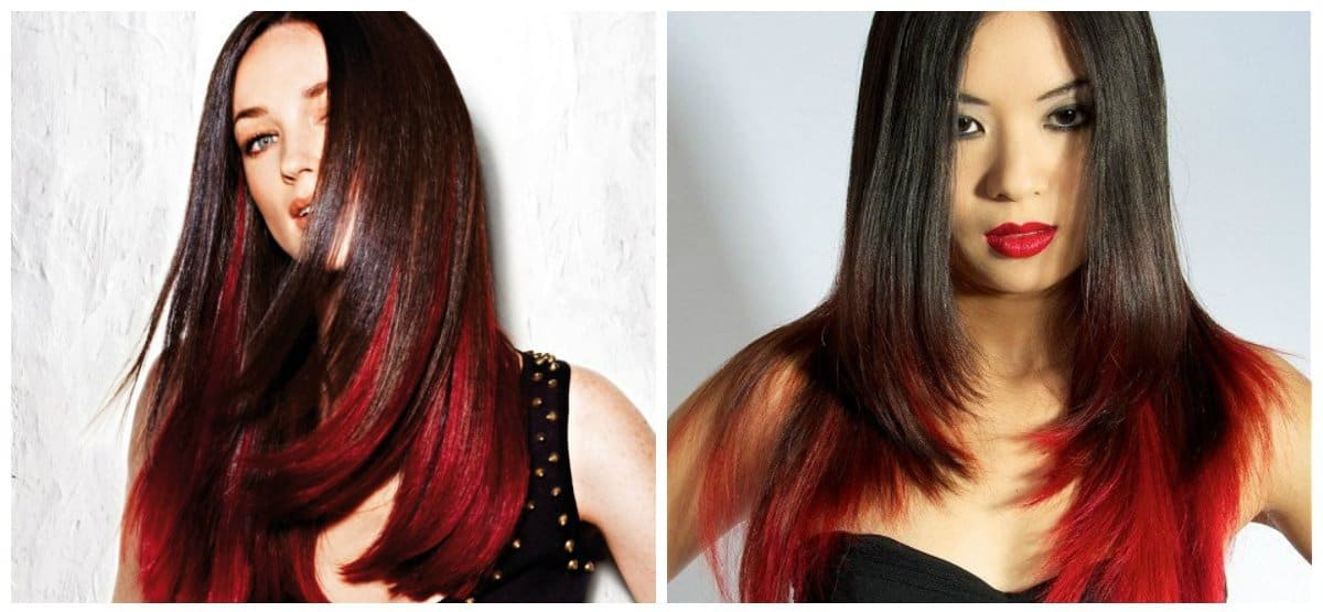 how to get a dark red hair color, melioration of dark red hair