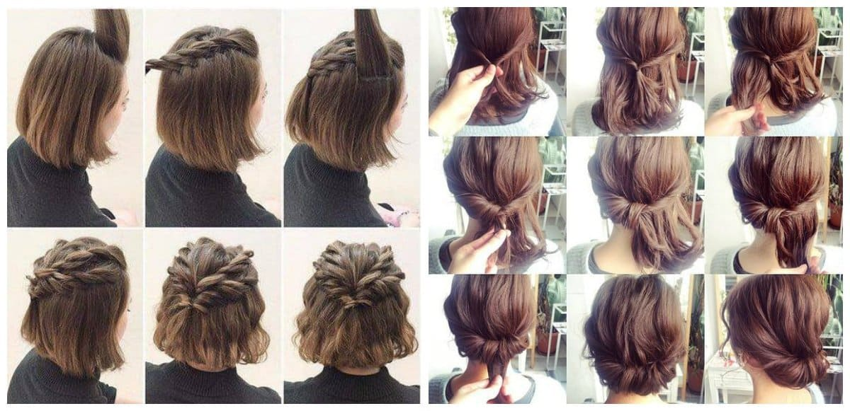 Quick And Easy Hairstyles For Short Hair 6 Trendy Ideas For Short