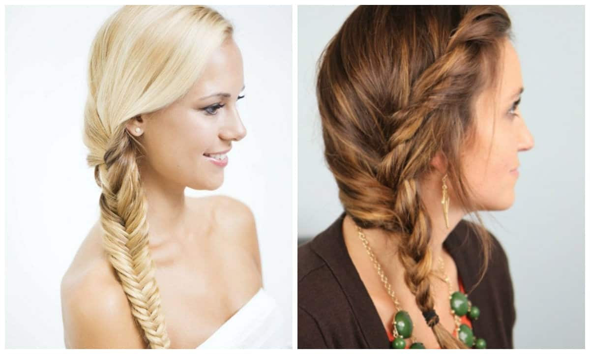 simple updos for long hair, stylish plait-braid for long hair