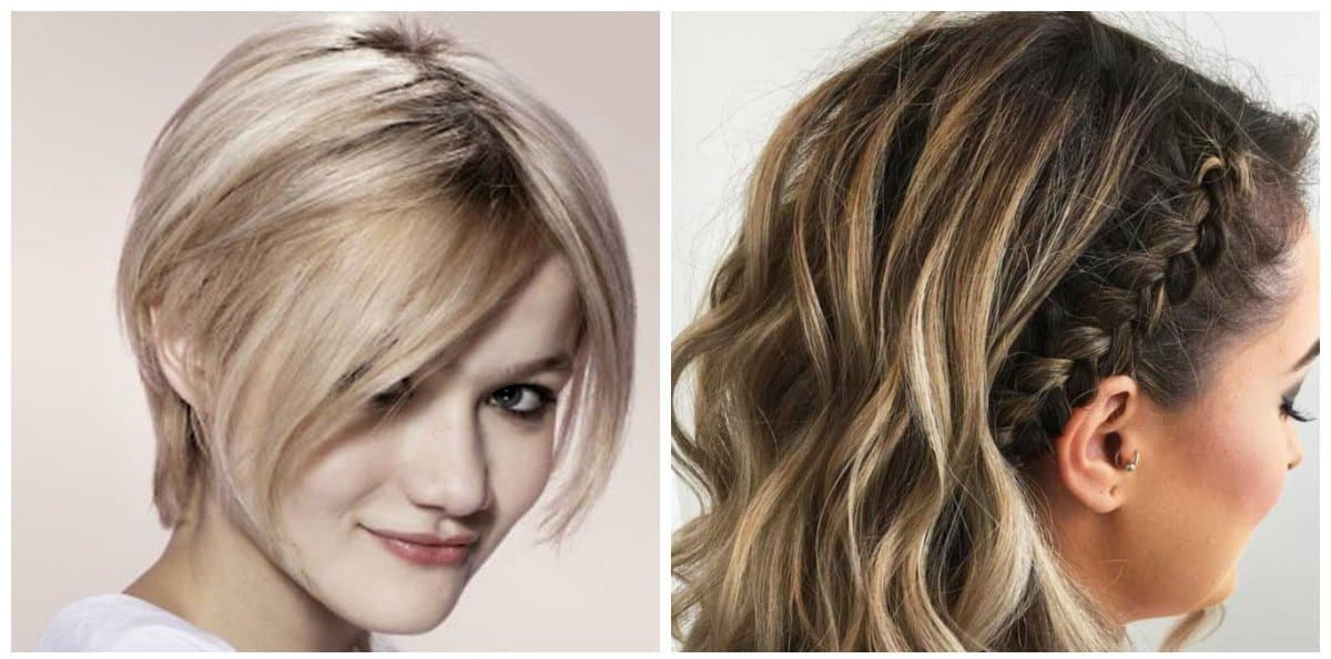 simple updos for short hair, 4 fashionable hairstyles for short hair