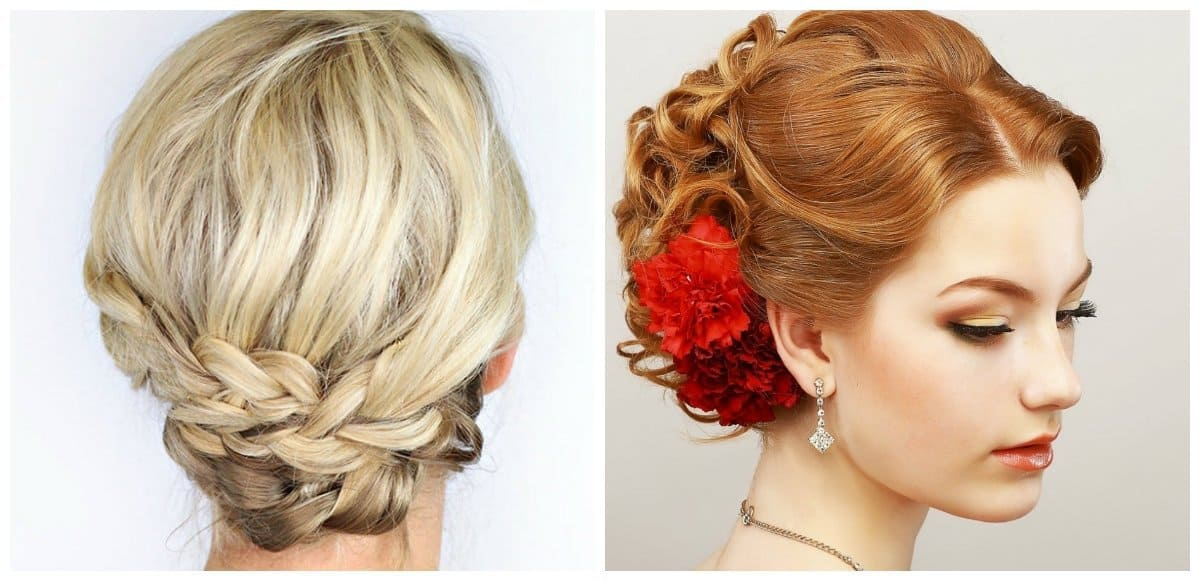 updo hairstyles for short hair, top 8 updo hairstyles for short hair