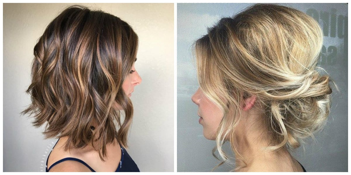 updos for medium hair, 4 stylish options for medium hair