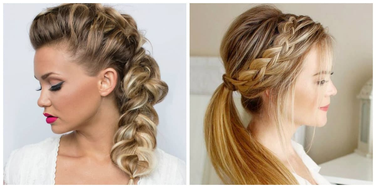 upstyles for long hair, fashionable braids for long hair