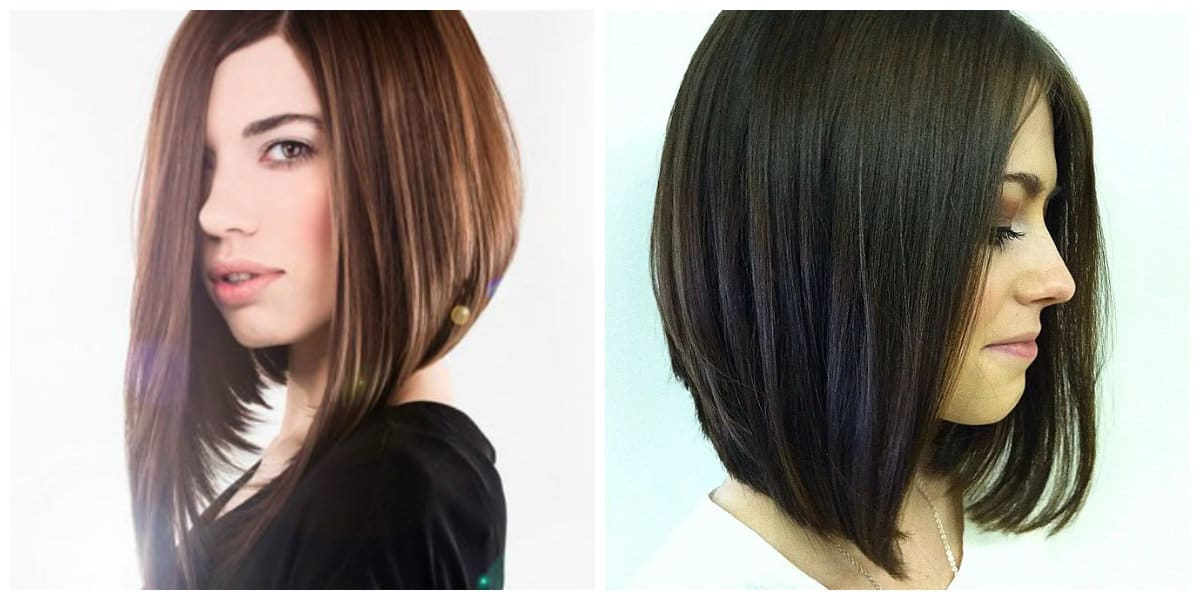 female haircuts 2019, stylish caret hairdo in female haircuts 2019 trend