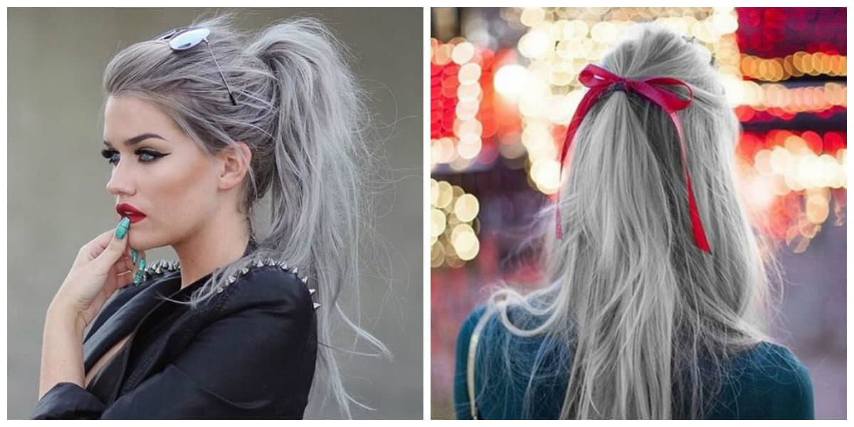 granny hair 2019, how to stain granny hair successfully