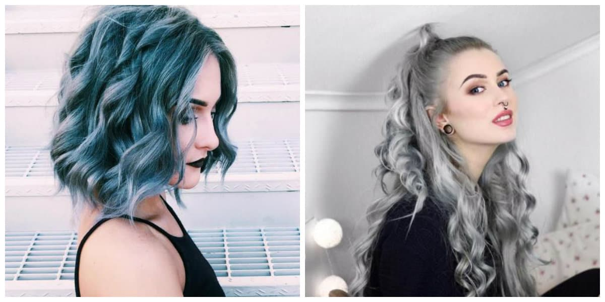 hairstyles for girls 2019, stylish wavy grunge hairstyle 2019