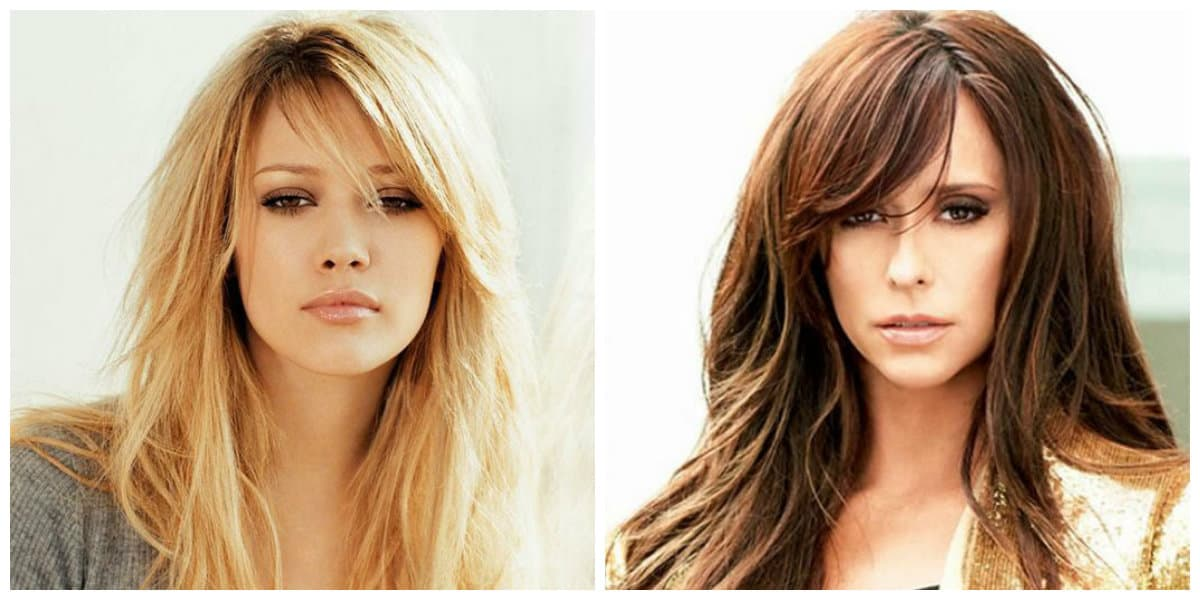Hairstyles 2019 Female With Bangs: Layered Haircuts 2019: Top Fashionable Styling Ideas
