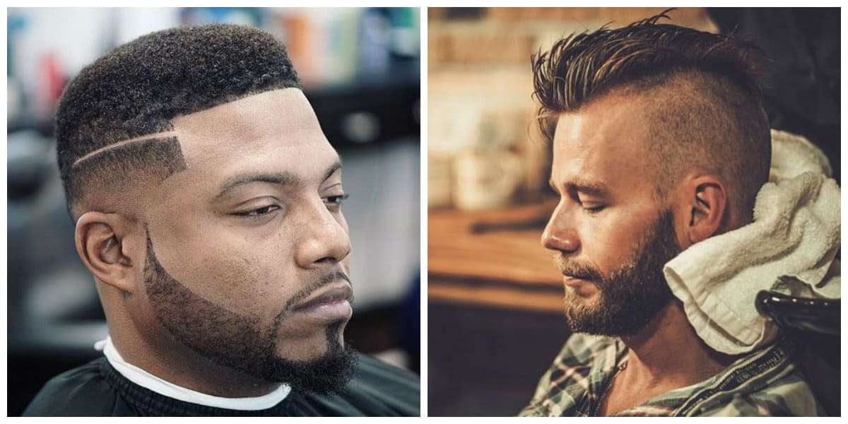 mens haircuts 2019, box men hairstyle 2019, half box men hairstyle 2019