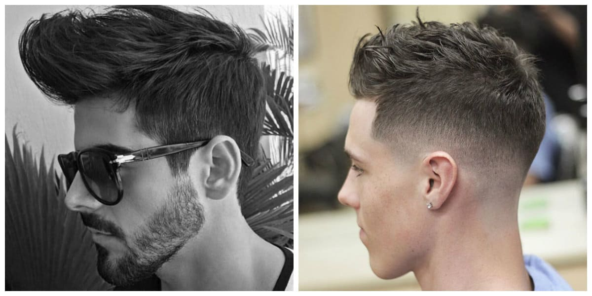 mens haircuts 2019, fashionable crop men hairstyle 2019