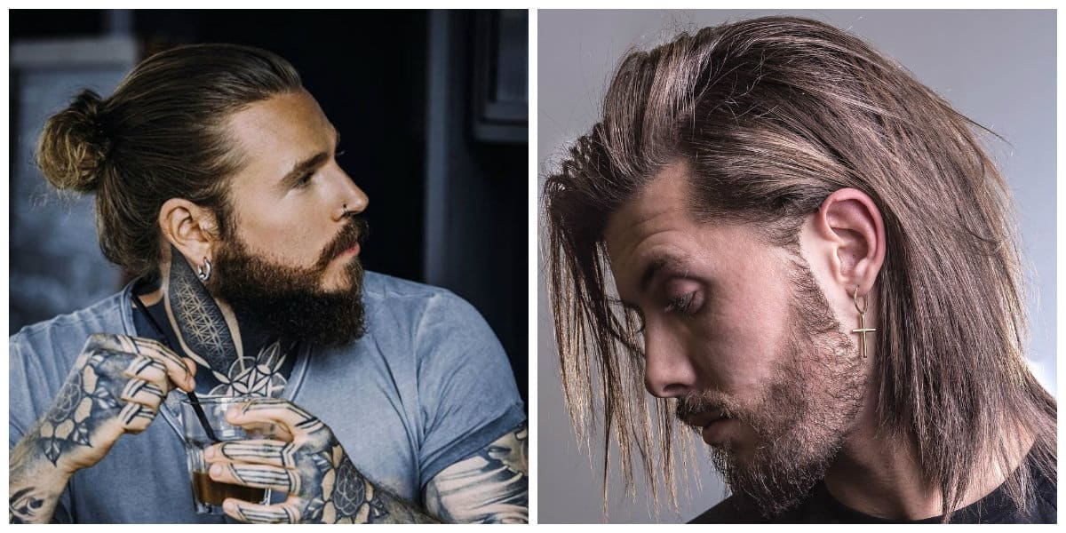 mens long hairstyles 2019, haircut styles, trendy ideas and tips