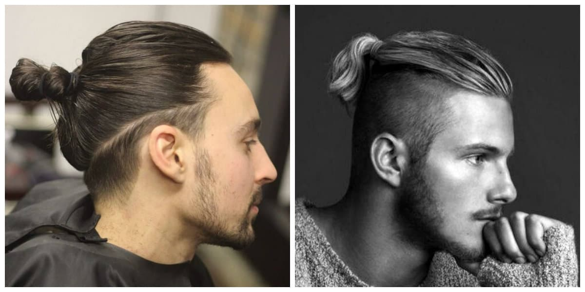 mens long hairstyles 2019, stylish undercut mens hairstyle 2019