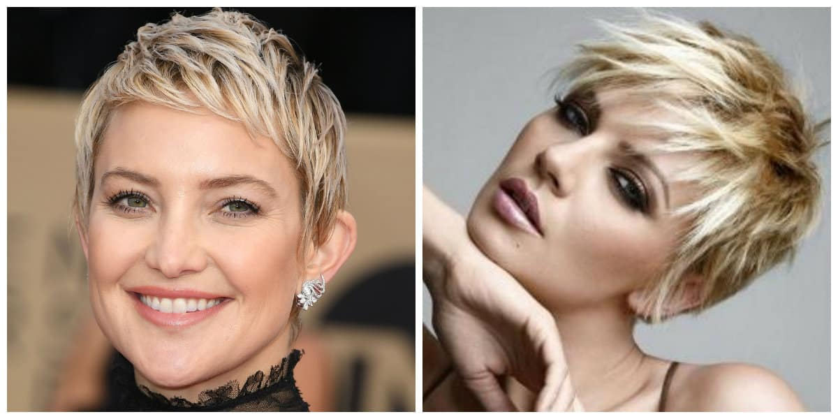pixie haircuts 2019, stylish haircut pixie with torn locks