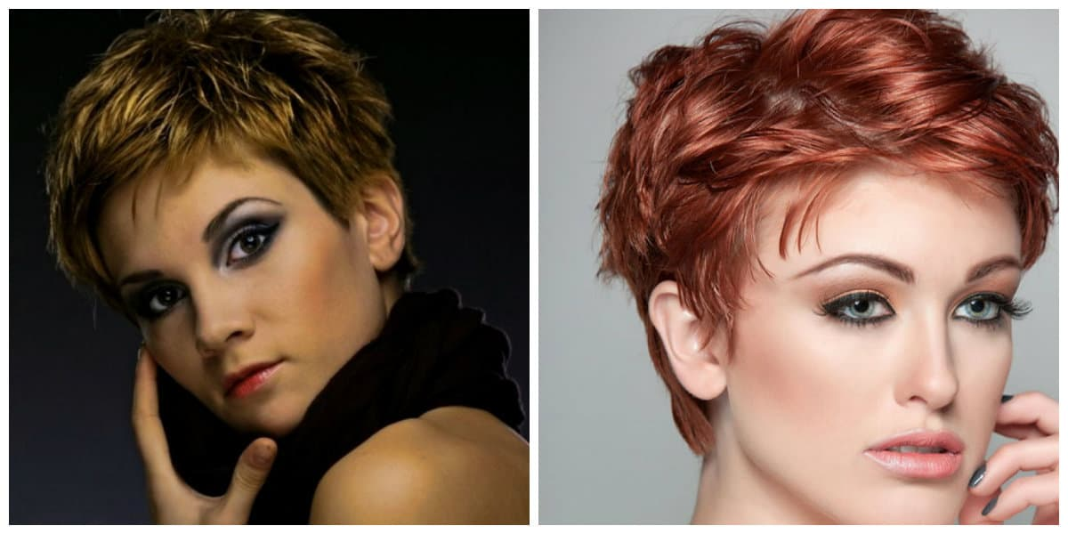short haircuts for oval faces 2019, highlighting and coloring of short haircuts for oval faces 2019