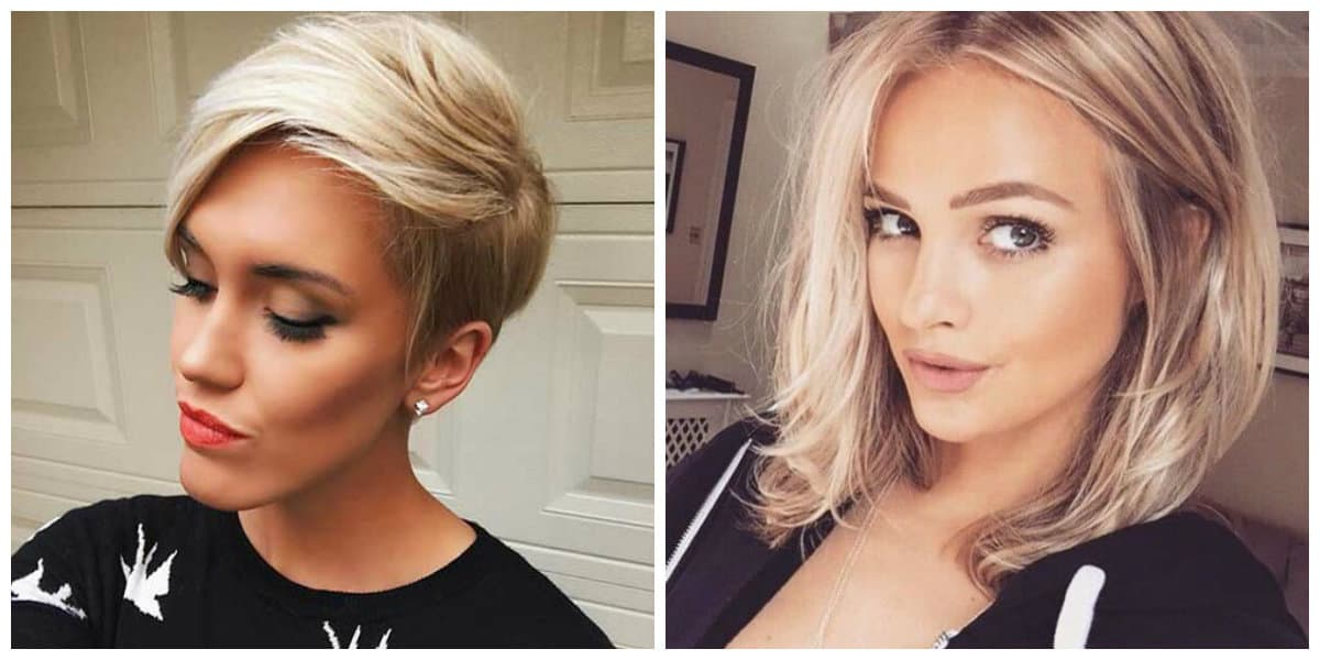 short haircuts for oval faces 2019, top trendy ideas for oval type face