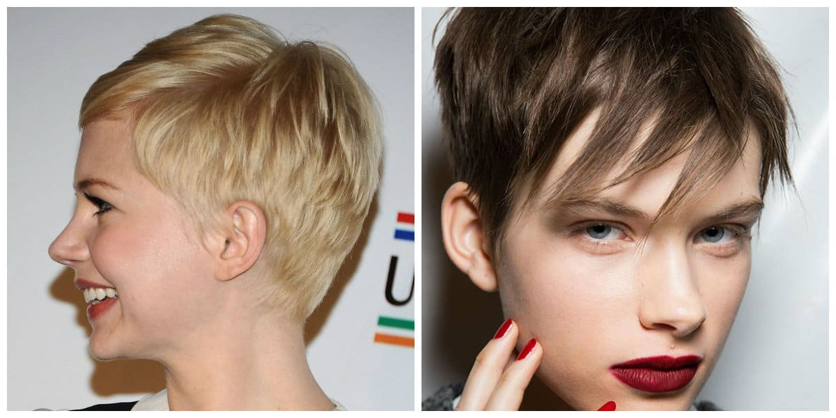 short haircuts for oval faces 2019, haircuts with straight strands for oval faces