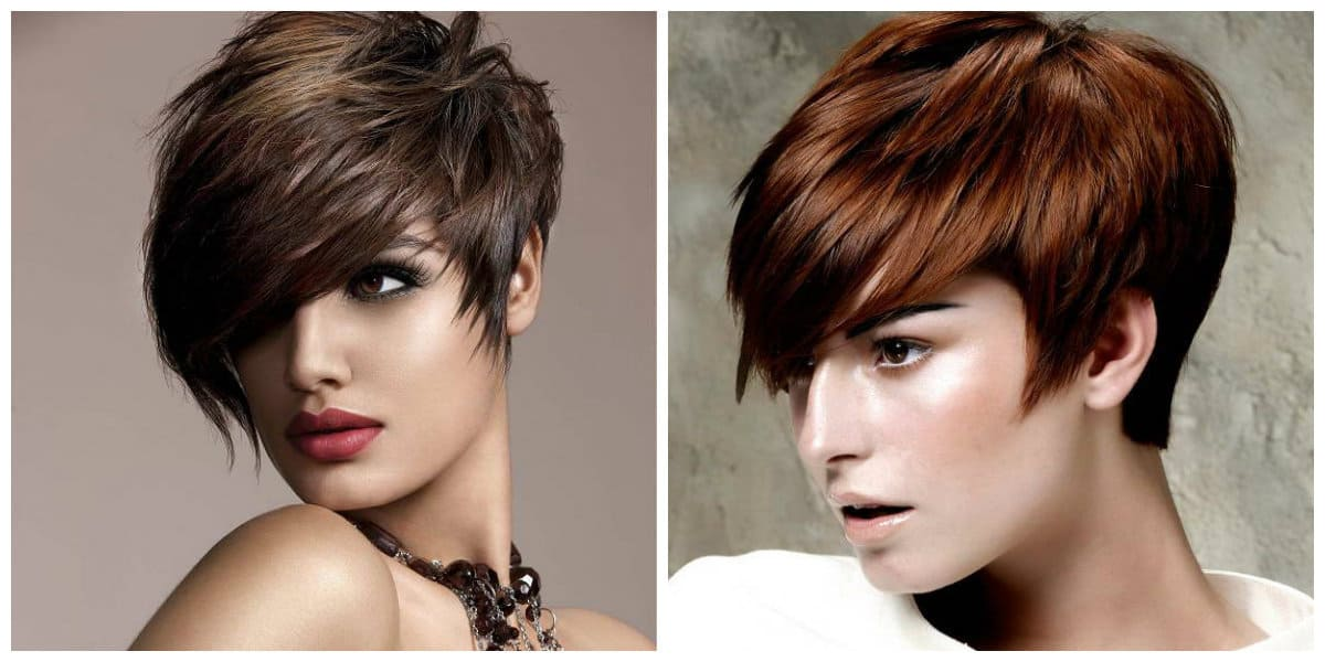 Hairstyles 2019 Female With Bangs: Short Hairstyles For Women 2019: Modish Updos For Short Hair