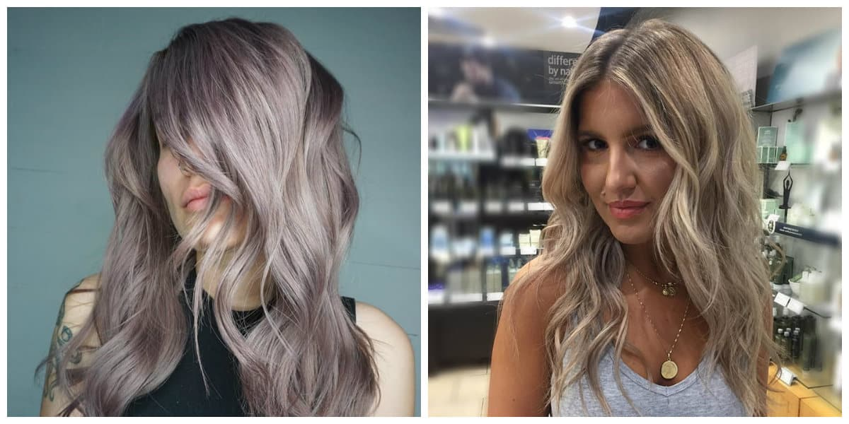 ash blonde hair 2019, use of mix tone for painting ash blonde hair