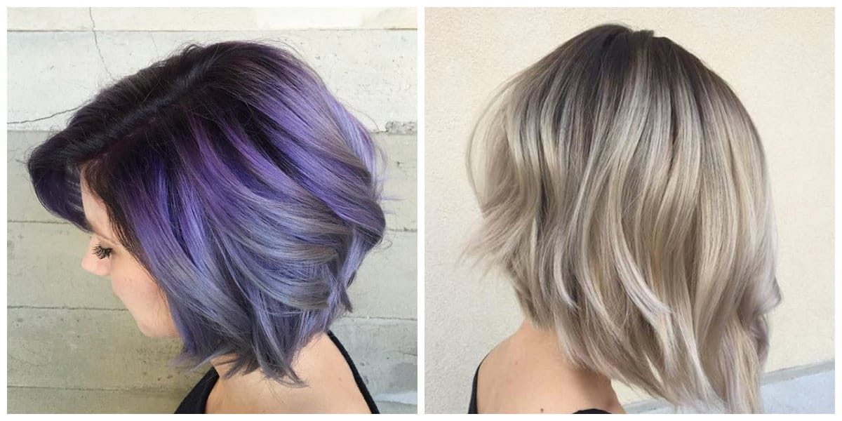 balayage hair color 2019, balayage technique on short hair 2019