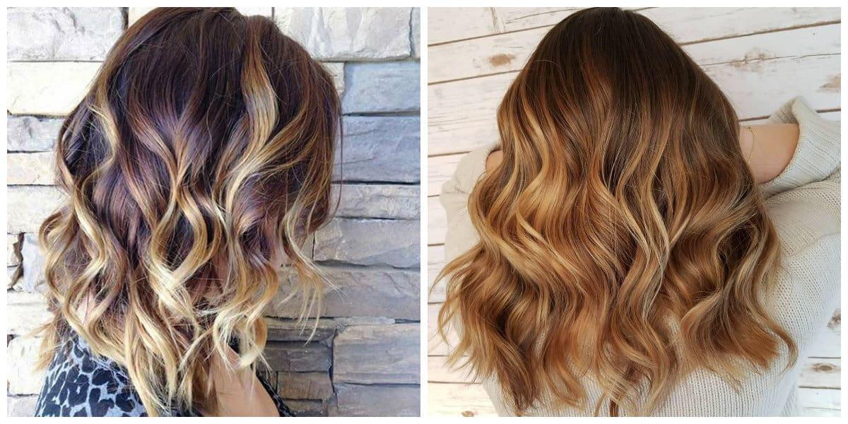 balayage hair color 2019, stylish ideas of balayage hair 2019