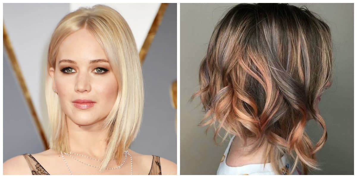bob haircut 2019, stylish hair color ideas for bob haircut 2019
