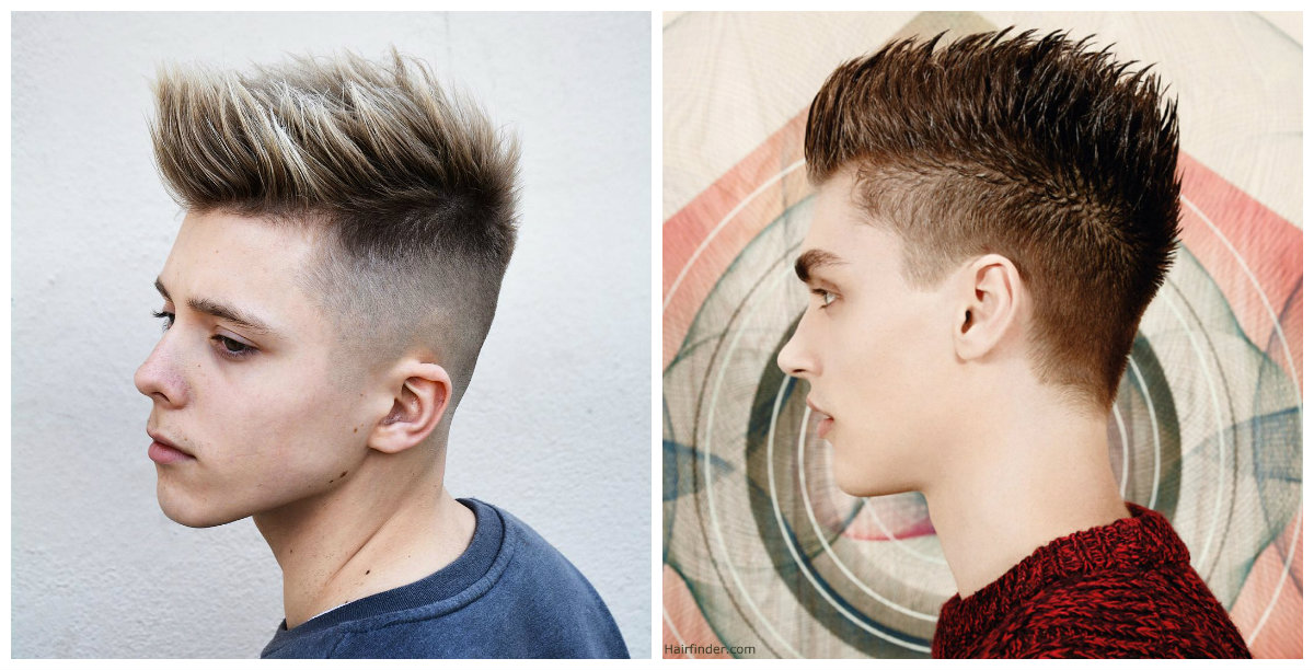 boys haircuts 2019, long strands on top and back of head