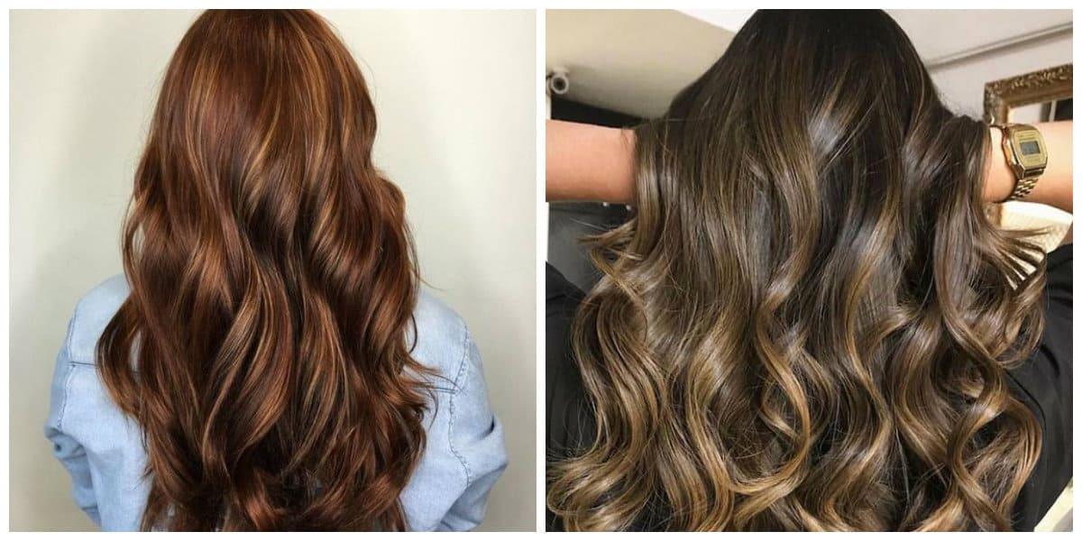caramel hair 2019, stylish chocolate caramel hair color 2019