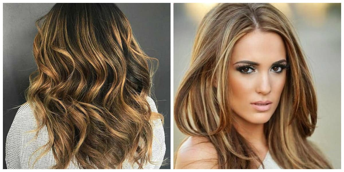 caramel hair 2019, stylish golden caramel hair color 2019