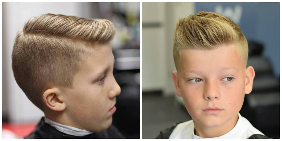 cool haircuts for boys 2019, pompadour haircut for boys 2019