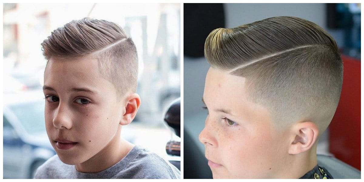 cool haircuts for boys 2019, side parting hair 2019 for boys
