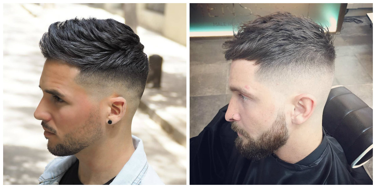 cool haircuts for men 2019, stylish fade haircut for men 2019