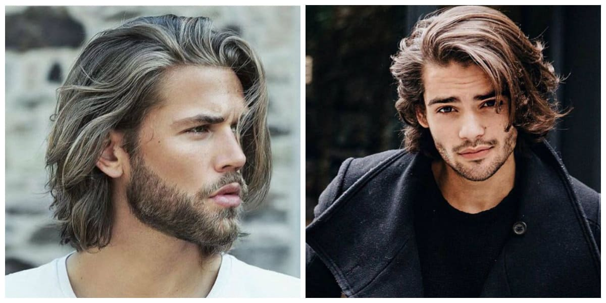 cool haircuts for men 2019, stylish haircuts with long hair 2019