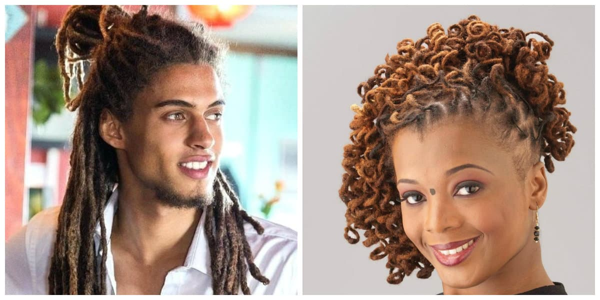 dreadlocks hairstyles 2019, features of weaving dreadlocks