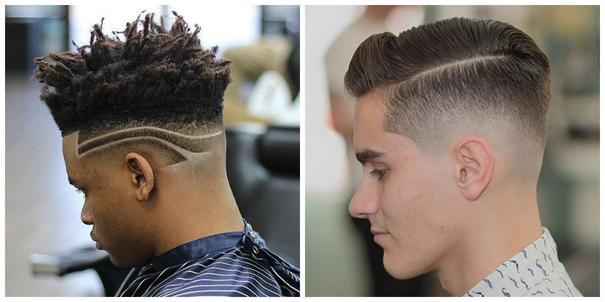 fade haircuts 2019, comb over fade haircut, high top fade haircut