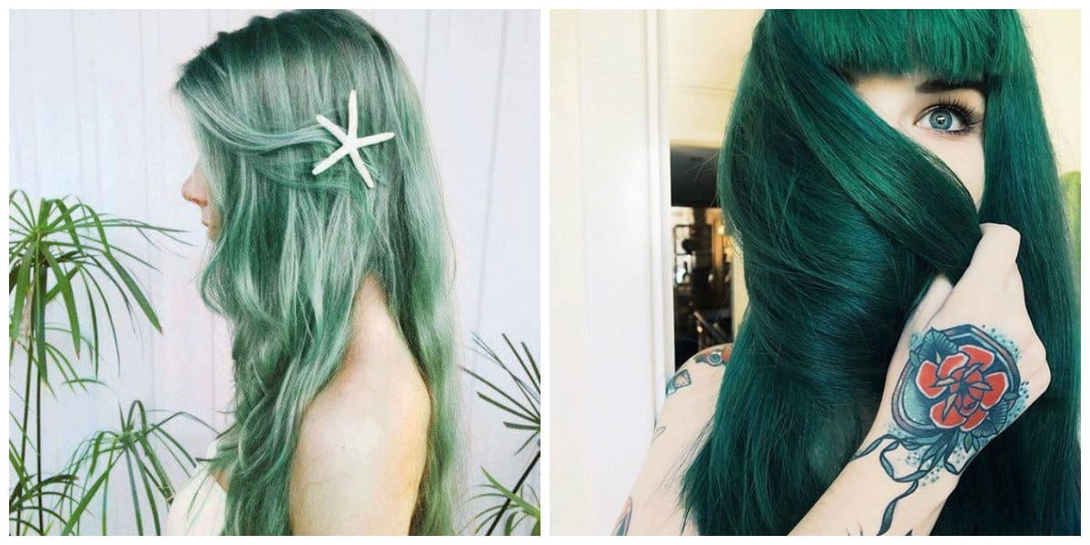 green hair 2019, how to achieve fashionable green hair color