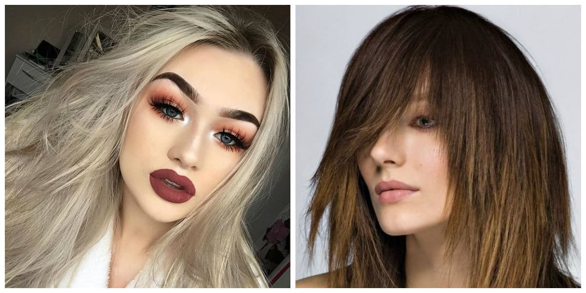 haircuts for long hair 2019, stylish ragged long hair 2019