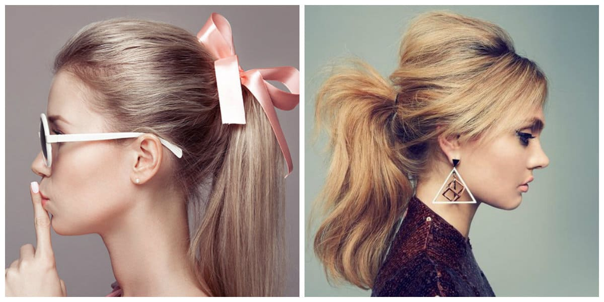 hairstyle for teenage girl 2019, stylish ponytail 2019, stylish tail with bouffant