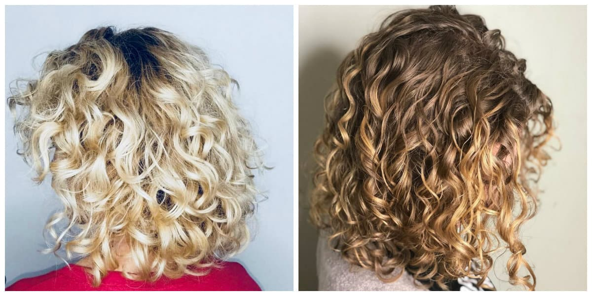 medium curly hairstyles 2019, fashionable tips for curly hair care