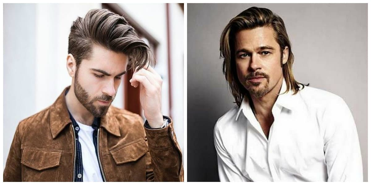 men long hairstyles 2019, stylish cascade men's haircut ideas 2019