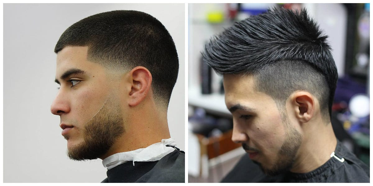 men short hairstyles 2019, short hair with shaved head and temples