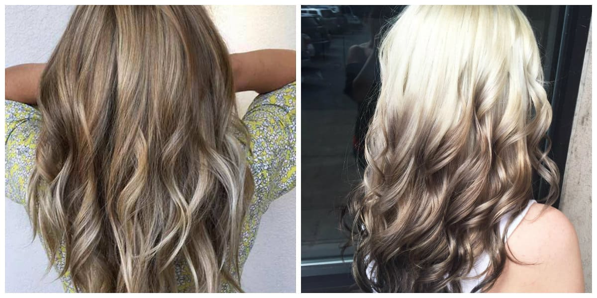 ombre hair color 2019, trendy ombre on blonde hair 2019 ideas