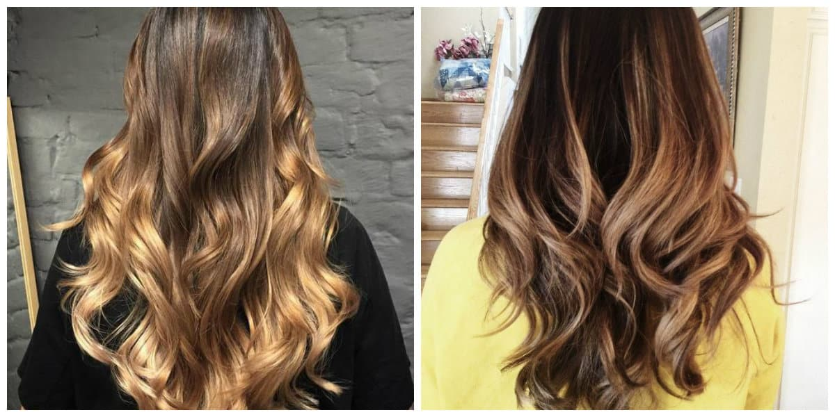 ombre hair color 2019, stylish dark blonde ombre hair 2019